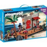 SUPER SET - INSULA PIRATILOR Playmobil