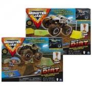 Детска играчка, Комплект за игра Monster Jam, с кинетичен пясък, асортимент, 025204