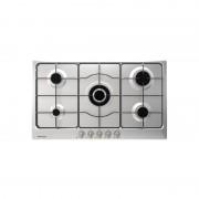 Bompani Bo293mb/n Piano Cottura Incasso 90 Italia Inox 5 Gas Valv. - 1 Tripla Cor.