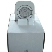 Coin Storage Tube, Square Plastic W/ Slide On Tops For Small Dollars (Quantity Of 100 Tubes) Made In The Usa