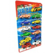 ClueSteps Push and Go Powerful Friction Car (Pack of 12) Push & Pull Along Vehicles (12 PCS) for your kids by ClueSteps