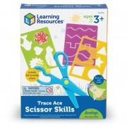 Joc creativ Desenat si decupat Learning Resources, 7 piese, 3 ani+