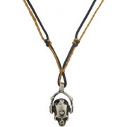 Sukkhi Chunky DJ With Headphone Pendant With Chain for Men