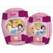 Set protectie cotiere si genunchiere Princess Disney Eurasia, sistem cu scai, 3 ani+