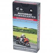 Powerkarten Motorradkarte Powerkarten Motorrad Box Deutsche Mittelgebirge