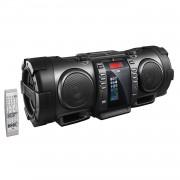 JVC RV-NB100B Portable CD Boomblaster with Lightning Dock, Bluetoot...