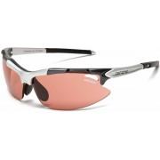 Sportbril / Zonnebril TIFOSI Pavé, Gunmetal, T-V236, High Speed Red Fototec lenzen, Pasvorm M / L