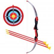 Juguete De Disparo De Arco Y Flecha 360DSC 35881P - Rojo