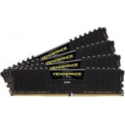 Memorii Corsair DDR4 Vengeance LPX Black Series 4x4GB, 2400 MHz, 14 CL