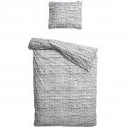 Snurk Twirre dekbedovertrek Snurk grijs-1-persoons 140 x 220 cm incl. kussensloop 60 x 70 cm