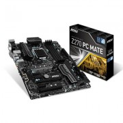 PLACA BASE MSI Z270 PC MATE - INTEL SKT LGA1151 - CHIPSET Z270 - 4xDDR4 - 2xPCIe 3.0 x16 - CROSSFIRE - DVI-D/HDMI/VGA - ATX