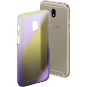 """Hama Cover """"Mirror"""" voor Samsung Galaxy J3 (2017), geel/lila"""