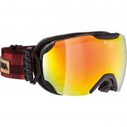 Alpina Pheos S QMM SPH goggles S2 rood/zwart 2017 Goggles