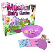 Laeto Toys & Games the Mystical and Sparkle Fairy Garden by Ideal Arts Crafts or Science for Girls Set Like Lilypad Gardens My Children'S Fairies