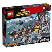 LEGO LEGO Marvel Superheroes 2016 Late Half New Products Spiderman: Great Battle 76057 on Web · Warriors Bridge 76057 [Parallel import goods]