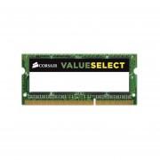 Memoria Corsair ValueSelect SODIMM DDR3L PC3-12800 1600MHz, 4 GB.