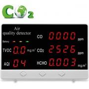 Co2 Melder - Fijnstofmeter - Monitor - Luchtkwaliteit - Meter - Binnen