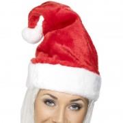 Smiffys Dikke kerstmuts met bont