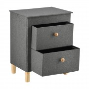 [pro.tec] Nočný stolík ABWR-0374 šedý