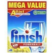 Finish All In 1 Turbo Lemon Dishwasher Tablets Pk 56 1002091