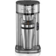 Hamilton Beach 735CJI4ONA4I Personal Coffee Maker(Silver)