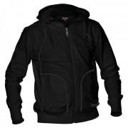 Reece Hooded Sweat Full Zip Unisex Zwart SR DISCOUNT DEALS