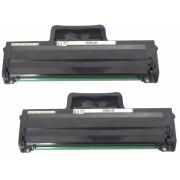 2x Kompatibel Toner HP W1106A / 106A f. HP Laser 107a /107 a