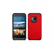Funda Protector Mixto HTC One M9 Rojo