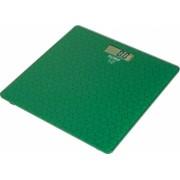 Cantar electronic de persoane Floria sticla securizata 150 kg 100 g auto zero auto oprire display LCD Verde