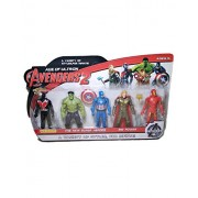ClueSteps Age of Ultron Avengers 2 A Variety of Styles, for Infinite, The New Super Heroes (Hulk, Captain America, Thor, Iron Man, Black Panther)