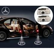 Proiectoare LED Laser Logo Holograme cu Leduri Cree Tip 3, dedicate pentru Mercedes CLS Class W218 / X218 (2010+)