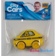 My First City Car rágóka - Taxi sárga zacskóban
