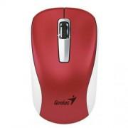 Egér, vezeték nélküli, BlueEye, közepes méret, GENIUS NX-7010, piros (GEE7010R)