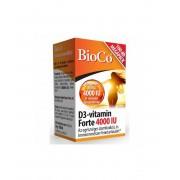 BioCo D3vitamin Forte 4000 IU 100 db