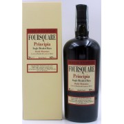 RHUM FOURSQUARE PRINCIPIA SINGLE BLENDED RUM DOUBLE MATURATION 3 YEARS EX BOUBON & 6 YEARS EX SHERRY