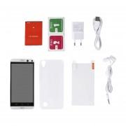 5 Pulgadas Mtk6580 3G Smartphone Android Teléfono Móvil 820 200w+500W Píxeles Blanco
