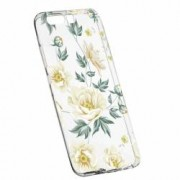 Husa Silicon Transparent Slim Floral 126 Huawei Y6 2018