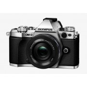 Olympus Om-D E-M5 Mark Ii + 14-42mm F/3.5‑5.6 Ed - Argento - 2 Anni Di Gar. In Italia