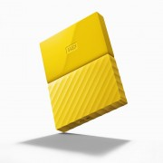 "HDD EXTERNAL 2.5"", 2000GB, WD My Passport, THIN, Yellow, USB3.0 (WDBS4B0020BYL)"
