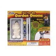 Grafix 9-piece Paint Your Own Garden Gnome Kit