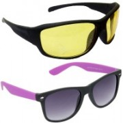 Redleaf Sports, Wayfarer Sunglasses(Yellow)