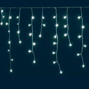 LED-es jégcsap fényfüggöny, 8 programos, 3 m, IP44, 230V