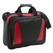 Sols Laptop tas rood/zwart 40 cm