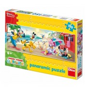 Dino toys puzzle - clubul lui mickey mouse - la plaja (150 piese)
