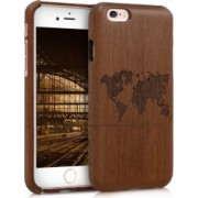 Husa iPhone 6 / 6S Lemn Maro 35467.10