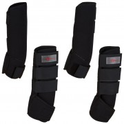 Kerbl Four Piece Horse Boots Set Black Full 320133