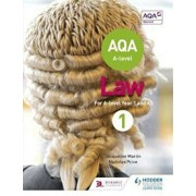 AQA A-level Law for Year 1/AS, Paperback/Jacqueline Martin