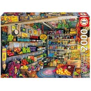 Educa Children's 2000 the Farmers Market Puzzle (Piece)