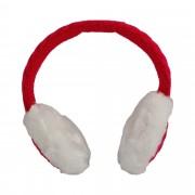 Casti audio cu fir Xenos, Mufa Jack 3.5 mm, Rosu/Alb