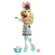 Papusa Monster High Shriekwrecked Nautical Ghouls Doll Lagoona Blue